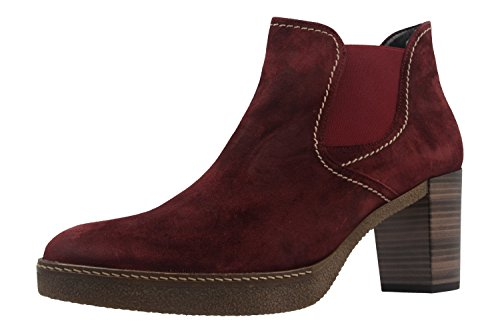A 941g 52 n Gabor Mi Womens s ma Wine Booties 6OFqwv0