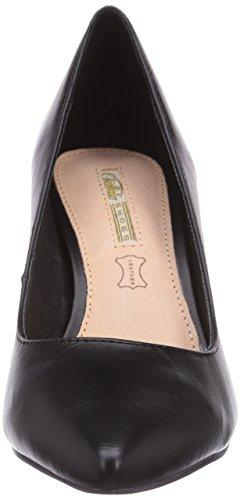 Buffalo H733-C002A-4 P1735A - zapatos de tacón cerrados de material sintético mujer Negro - negro (negro 01)
