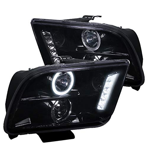 Spec-D Tuning LHP-MST05G-TM Smoke Projector Headlight (Halo Led)