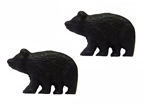 awer Pulls (Set of 2 Knobs) (Bear Drawer Knob)