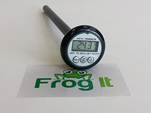 Digital Meat Thermometer, BBQ Thermometer, Grilling Thermometer, Digital Kitchen - Code And Promo Q B
