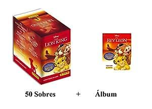 El Rey León Panini Album + 50 Sobres: Amazon.es: Juguetes y ...
