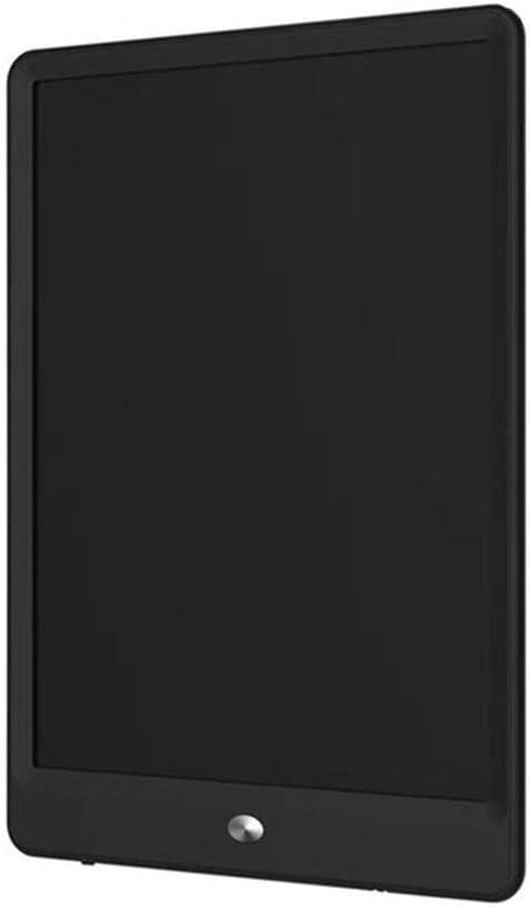 LCDライティングタブレットカラフルなデジタル電子グラフィックタブレットポータブル会手書き10インチ ペン&タッチ マンガ・イラスト制作用モデル (Color : Black)