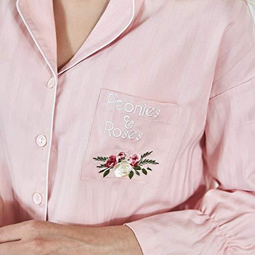 Sleepwear Mujeres color Para Cm Y El Hogar Rosa Sin Home Deformación Decoloración 170 Ropa Tamaño ZvqrwTvX