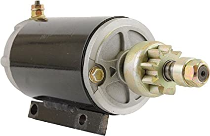 DB Electrical SAB0040 New Starter For Omc Johnson Evinrude Marine 40 48 50  60 70 75 HP many Years, 384163, 387684, 389275, 585063, 586280, MGD4007,