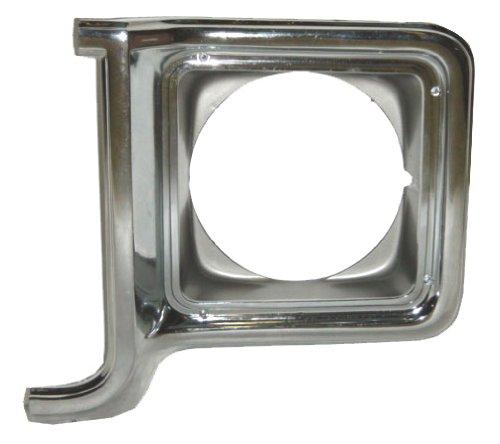OE Replacement Chevrolet/GMC Driver Side Headlight Door (Partslink Number GM2512134)