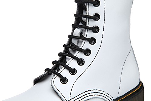 Boots Boots Big Leather White Ladies Lace Classic Shoes Martin Velvet Boots Womens Size uBeauty Ankle Boots Up qwf1Iv