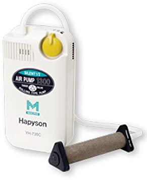 ハピソン YH-735C 乾電池式エアーポンプ ミクロの画像