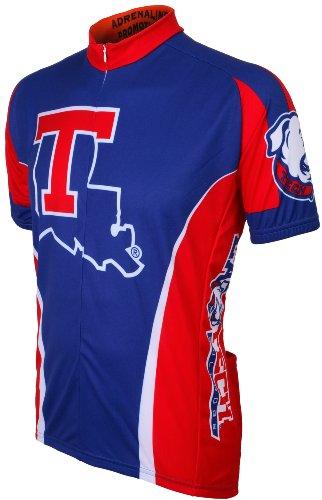 Adrenaline Promotions NCAA Louisiana Tech Cycling (Bulldogs Cycling Jersey)