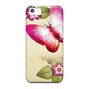 Dreaming Your Dream Case Cover Skin For Iphone 5c (butterfly Painting)