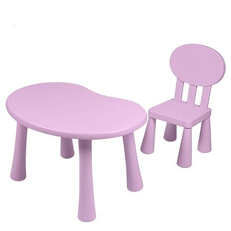 Amazon.com: Xing Hua Shop - Juego de mesa y silla y mesa de ...