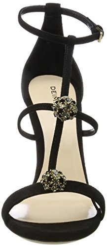 extremely free shipping real Dei Mille Women's Elena W/Strass Wedge Heels Sandals Black (Nero) best prices cheap online get authentic cheap online affordable cheap online MJEkRAjRZX