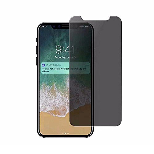 Little Story New Privacy Tempered Glass Protector Screen Full Coverage Film Skin for iPhone X