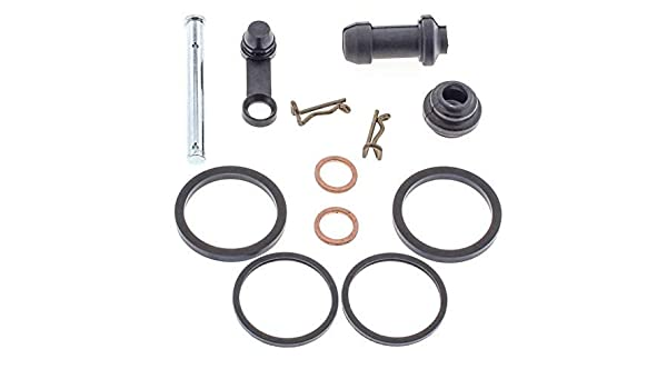 BossBearing Rear Brake Caliper Rebuild Kit for Polaris Sportsman 400 4X4 1994 1995 1996 1997