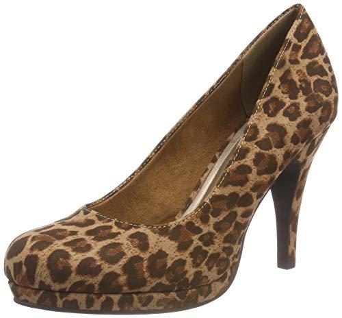 Escarpins Tamaris Femme Marron leopard 22407 360 21 EqHq8wT