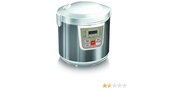 Redmond RMC-M30E- Multicocción, 900 W, 10 programas automáticos, recipiente de 6 l: Amazon.es: Hogar