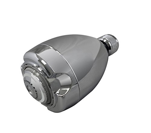 Niagara Conservation N2917CH Earth 3-Spray 1.75 GPM Chrome Fixed Showerhead,