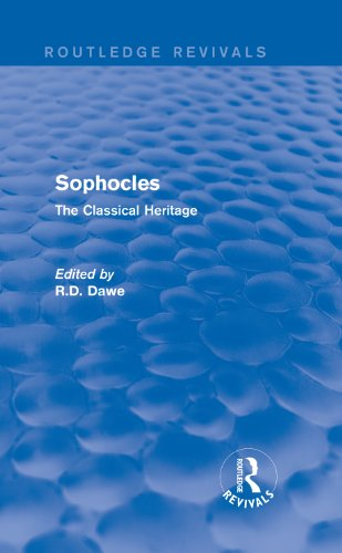 Sophocles (Routledge Revivals): The Classical Heritage Pdf