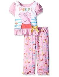Nickelodeon Peppa Pig Pretty Flowers Toddler Pajamas for girls