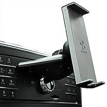 Koomus CD-Air-Tab Pro Universal Smartphone Tablet PC Car Mount Holder for CD Slot, Black