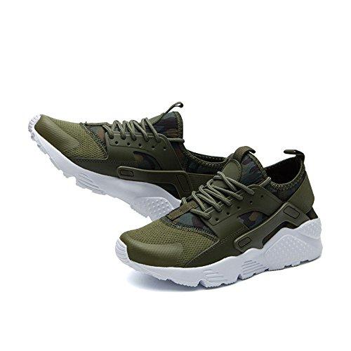 Un Autre Été Unisexe Casual Maille Chaussures De Sport En Cours Dexécution Vert