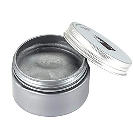 802f06b14 Buy 120g Unisex Hair Color Wax Mud Hair Dye Molding Hair Styling Coloring  Paste Grandma Grey Green Hair Dye Wax Ceam   Gray Online at Low Prices in  India ...