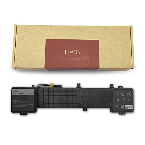 HWG 6JHDV Battery Compatible Dell Alienware 17 R2 5046J P43F Series, Fits P/N 6JHDV (14.8V 92WH) by HWG (Image #7)