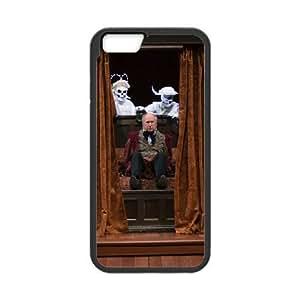 iPhone6 Plus 5.5 inch Phone Case Black Christmas Carol MG682148