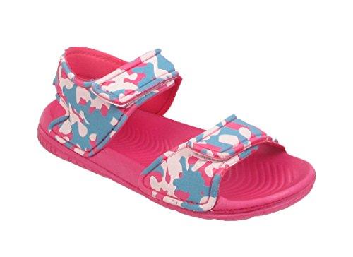 Army Summer Pink Children Infants Sports Size UK Kids Camouflage Girls Boys Sandals xA0Uq