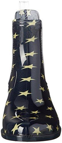 Tommy Hilfiger O1285dette 6r1, Zapatillas de Estar por Casa para Mujer Azul - Blau (Midnight 403)