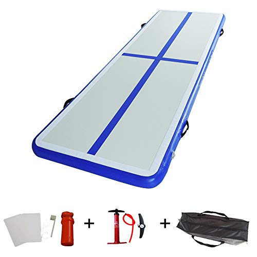 ibigbean Air Track Inflatable Gymnastics Traning Mats On Grass or Water