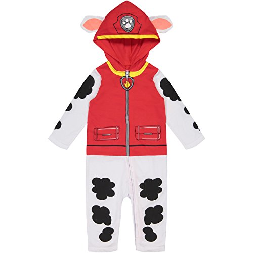 Paw Patrol Marshall Toddler Boys' Costume Coverall with Hood (4T)