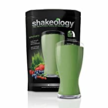 Shakeology 30 Day Servings in a BAG, Gives You Energy Reduce Cravings Maintain Healthy Body Weight (Greenberry)