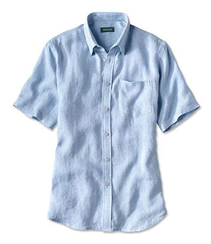 ff925105e3 Orvis Short-Sleeved Pure Linen Shirt