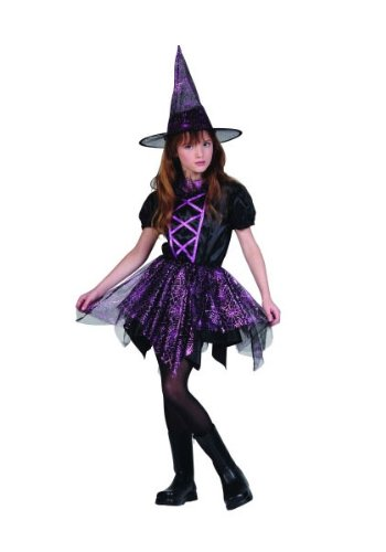 RG Costumes Glitter Spiderina Costume, Child Small -