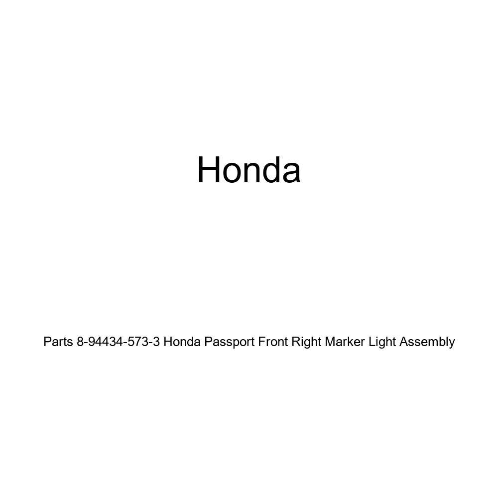 Genuine Honda Parts 8-94434-573-3 Honda Passport Front Right Marker Light Assembly