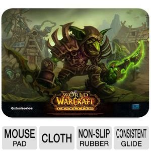 SteelSeries QcK World of Warcraft Cataclysm Gaming Mouse Pad-Goblin Edition, Best Gadgets