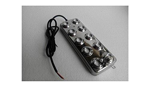FAST SHIPPING ! Ultrasonic mist maker fogger 10 head humidifier & transformer 110V or 220V (10 head humidifier)