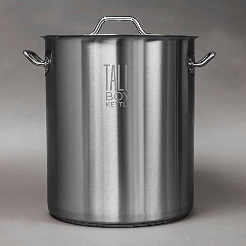 Tall Boy Home Brewing Kettle Stainless Steel Stock Pot 10 Gallon Capacity 40 Quart In Dubai Uae Whizz Brew Pots Kettles Accessories