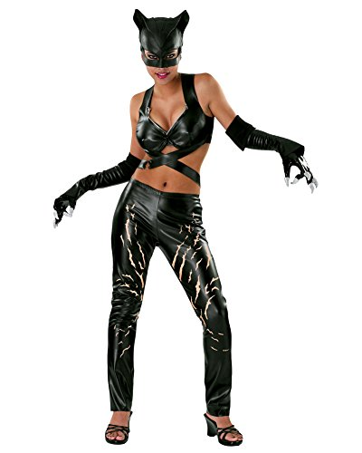 Hero/villain Costume Ideas (Superhero Sexy Catwoman Costume Halle Movie Costume Comic Book Sizes: Large)