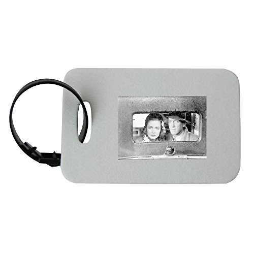 Jimmy Stewart and Donna Reed in the movie It's A Wonderful Life luggage tag