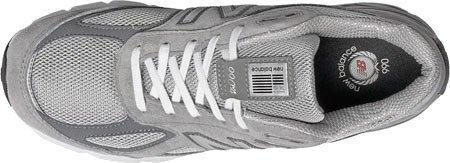 New Balance Men's M990V4 Running Shoe, Size: 12 Width: 6E Color: Grey