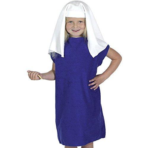 Shepherd Innkeeper Costume for Kids one size 3-9 Yrs by Charlie Crow - Kids Innkeeper Costume