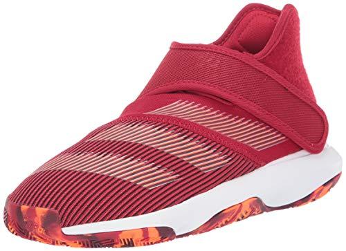 adidas Boy's Harden B/E 3 Basketball Shoe, Power Red/White/Solar Orange, 6.5 Medium US Big Kid