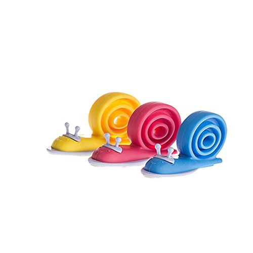 Meanhoo 2 Pcs Snail Shape Finger Safety Door Stopper,Animal Door Stopper for Baby and Protector Children Random Color - Garage Floor Paint Reviews