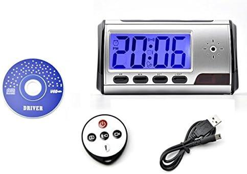 Opinión sobre Blu-Ray Reloj Despertador Digital de Mini DVR Cámara Oculta Espía con Detector de Movimiento + Control Remoto