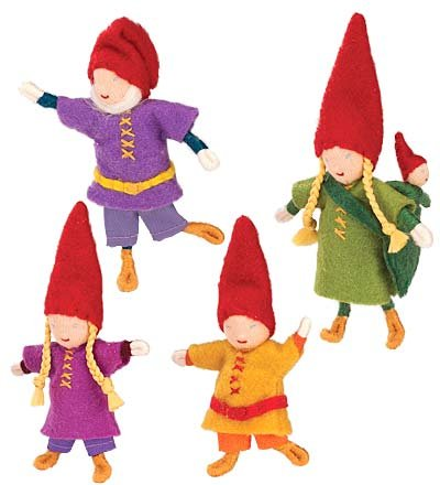 Woodland Friends Doll Family, Set of 5