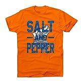 500 LEVEL New York Todd Frazier Salt and Pepper Adult Shirt - Orange Tee