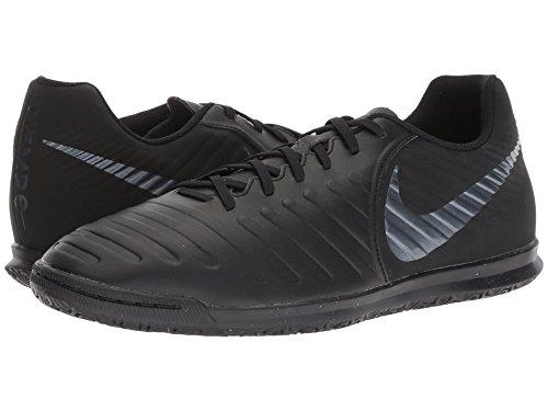 [NIKE(ナイキ)] メンズランニングシューズ?スニーカー?靴 Tiempo LegendX 7 Club IC Black/Black/Light Crimson 11.5 (29.5cm) D - Medium