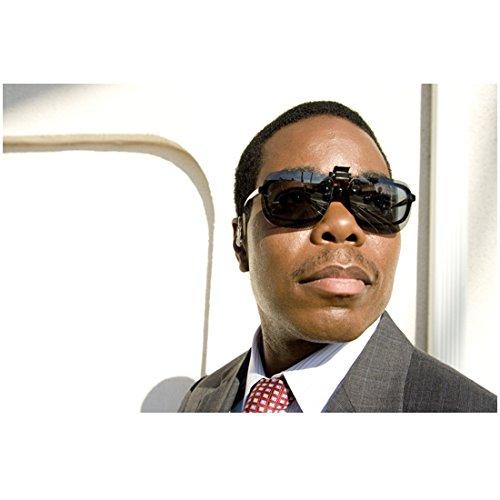 G-Force Gabriel Casseus as Agent Carter Sunglasses and Suit Head Shot 8 x 10 inch - Sunglass Arnett